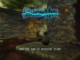 Shadow Man (France) Title Screen