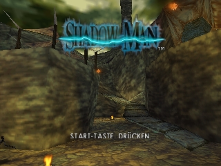 Shadow Man (Germany) Title Screen