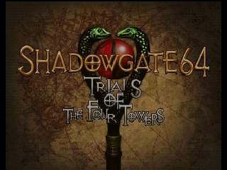 Shadowgate 64 - Trials of the Four Towers (USA) (En,Es) Title Screen