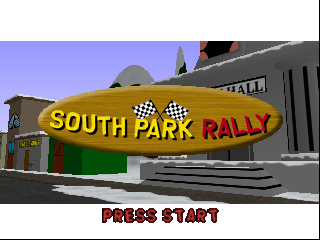 South Park Rally (USA) Title Screen