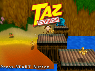 Taz Express (Europe) (En,Fr,De,Es,It,Nl) Title Screen
