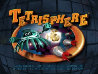 Tetrisphere (USA) Title Screen