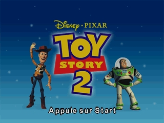 Toy Story 2 (France) Title Screen