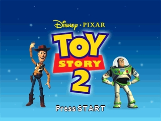 Toy Story 2 (USA) Title Screen