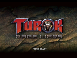 Turok - Rage Wars (Europe) (En,Fr,It) Title Screen