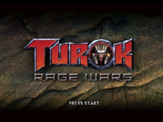 Turok - Rage Wars (Europe) Title Screen