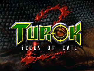 Turok 2 - Seeds of Evil (USA) (Kiosk Demo) Title Screen