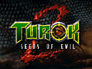 Turok 2 - Seeds of Evil (USA) Title Screen