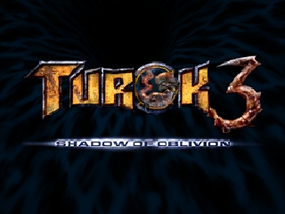 Turok 3 - Shadow of Oblivion (Europe) Title Screen