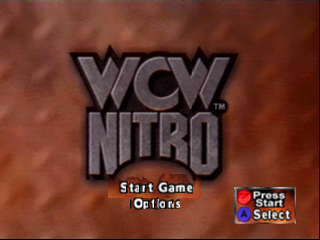 WCW Nitro (USA) Title Screen
