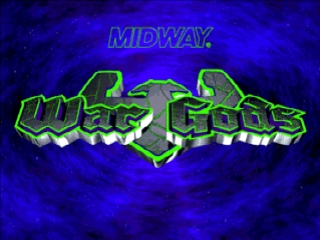 War Gods (Europe) Title Screen