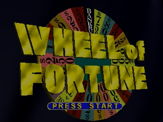 Wheel of Fortune (USA) Title Screen