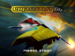 Wipeout 64 (USA) Title Screen