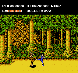 Adventures of Bayou Billy, The (Europe) In game screenshot