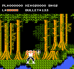 Adventures of Bayou Billy, The (USA) In game screenshot