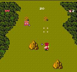 Adventures of Dino Riki, The (USA) In game screenshot