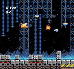 Air Fortress (USA) In game screenshot
