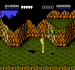 Battletoads (Japan) In game screenshot