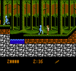 Bram Stoker's Dracula (USA) In game screenshot