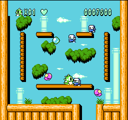 Bubble Bobble 2 (Japan) In game screenshot