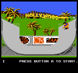 California Games (Europe) In game screenshot