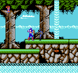 Captain America and the Avengers (USA) In game screenshot
