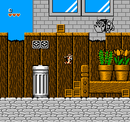 Chip 'n Dale Rescue Rangers (USA) In game screenshot