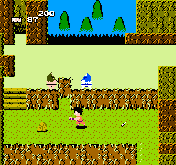 Dragon Ball - Le Secret du Dragon (France) In game screenshot