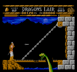 Dragon's Lair (Japan) In game screenshot