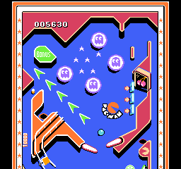 Family Pinball (Japan) In game screenshot
