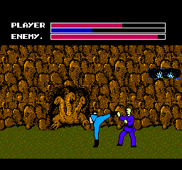 Fighting Road (Japan) In game screenshot