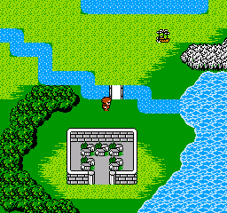 Final Fantasy II (Japan) In game screenshot