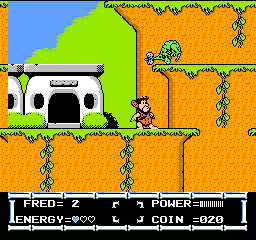 Flintstones, The - The Rescue of Dino & Hoppy (Japan) In game screenshot