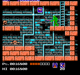 Gekikame Ninja Den (Japan) In game screenshot