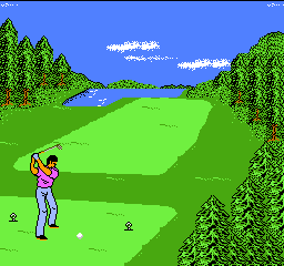 Golf '92, The (Japan) In game screenshot