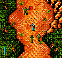 Ikari III - The Rescue (USA) In game screenshot