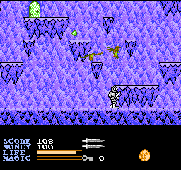 Ironsword - Wizards & Warriors II (Europe) In game screenshot