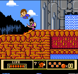 Jackie Chan's Action Kung Fu (Europe) In game screenshot