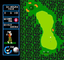 Jumbo Ozaki no Hole in One Professional (Japan) In game screenshot