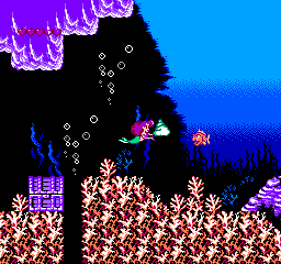Little Mermaid - Ningyo Hime (Japan) In game screenshot