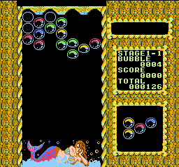 Mermaids of Atlantis - The Riddle of the Magic Bubble (USA) (Unl) In game screenshot