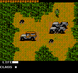 Metal Gear (Japan) In game screenshot