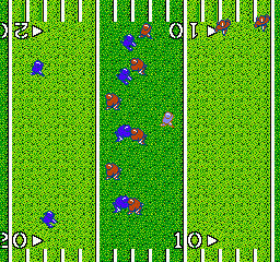 Quarter Back Scramble (Japan) In game screenshot