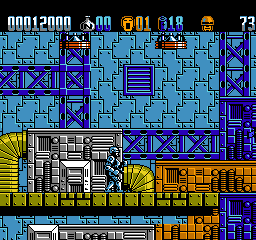 RoboCop 2 (USA) In game screenshot