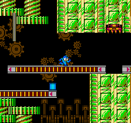 Rockman 2 - Dr. Wily no Nazo (Japan) In game screenshot