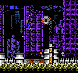 S.C.A.T. - Special Cybernetic Attack Team (USA) In game screenshot