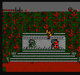 Secret Scout in the Temple of Demise (USA) (Unl) In game screenshot