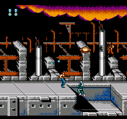 Super Contra (Japan) In game screenshot