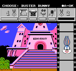 Tiny Toon Adventures Cartoon Workshop (USA) In game screenshot