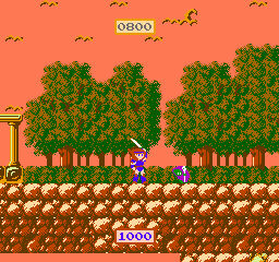 Wing of Madoola, The (Japan) In game screenshot